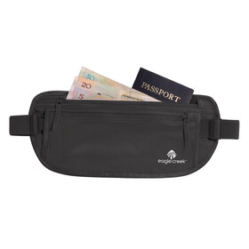 Eagle Creek Silk Undercover Money Belt Mavetaske sort